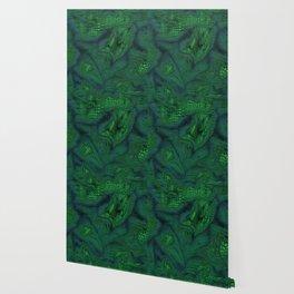 green iguana Wallpaper