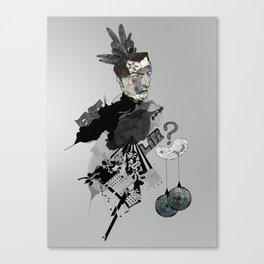 My interrogation? Canvas Print