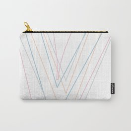 Intertwined Strength and Elegance of the Letter V Carry-All Pouch
