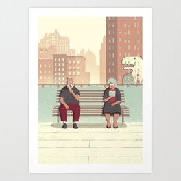Day Trippers #5 - Rest Art Print