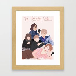 The Breakfast Club Framed Art Print