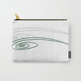 Emerald-Green Eye Carry-All Pouch