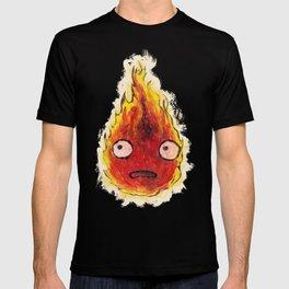Burning Calcifer T-shirt