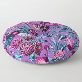 Romantic Floral Pattern Floor Pillow