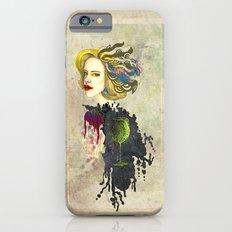 retro woman iPhone 6s Slim Case