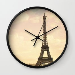 An Afternoon in Paris Wall Clock