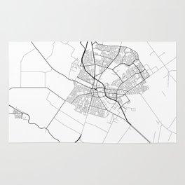 Minimal City Maps - Map Of Salinas, California, United States Rug