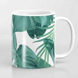 Tropical Summer Jungle Leaves Dream #2 #tropical #decor #art #society6 Coffee Mug