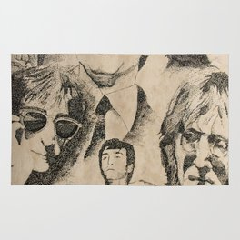 Tribute To JohnLennon Rug