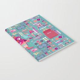 singpentinkhappy band II Notebook