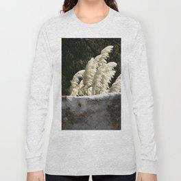 Flowering Pampas Grass Plumes Long Sleeve T-shirt