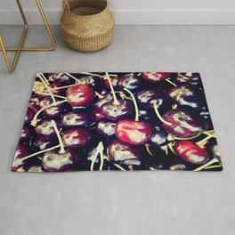 sweet cherries Rug