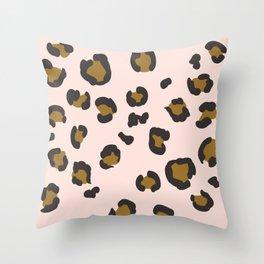 SEEING SPOTS - BLUSH Throw Pillow