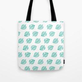 animal crossing leaf pattern Tote Bag