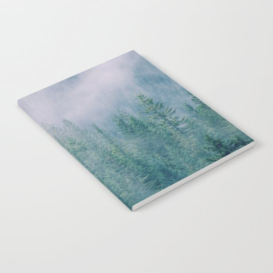 Foggy Forest in Squamish, British Columbia Notebook
