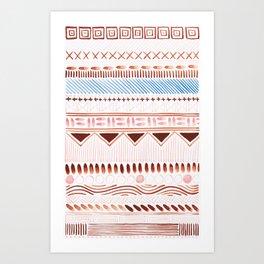 folklore 9 Art Print
