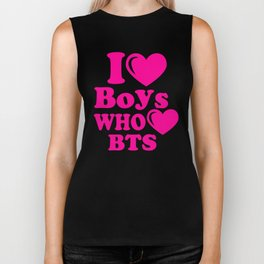 BTS boys Biker Tank