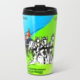 2014 FEI World Equestrian Games in Normandy HITCH stamp Travel Mug