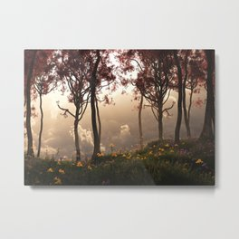 Skygate (Autumn) Metal Print