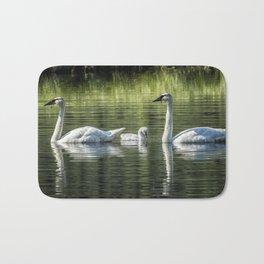 Family of Swans, No. 2 Bath Mat