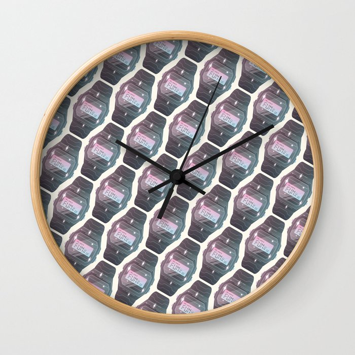 It's Fun PM Wall Clock