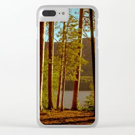 The Pines at Winona Clear iPhone Case