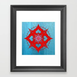 lianai redstone Framed Art Print