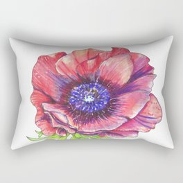 Floral Graphic Design Elements Rectangular Pillow
