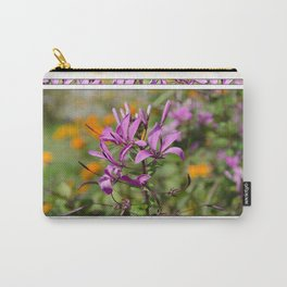 PASTEL PURPLE FLOWER  Carry-All Pouch