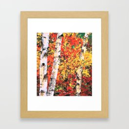 Fall Colors Framed Art Print
