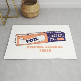 FOIL - Keeping Algebra Fresh Rug
