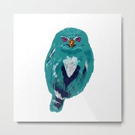 The Blue Owl Metal Print