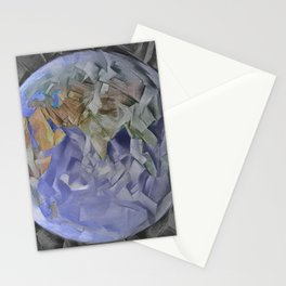 """""""What if Picasso had gone to the Moon?"""" Stationery Cards"""