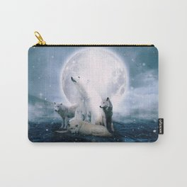 Wolves and the polar bear by GEN Z Carry-All Pouch