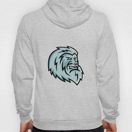 Yeti Head Mascot Hoody