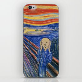 The Scream by Edvard Munch iPhone Skin