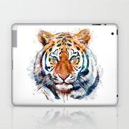 Tiger Head watercolor Laptop & iPad Skin