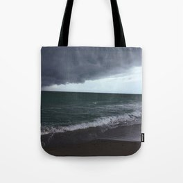 The Edge of the Weather Tote Bag