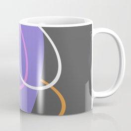 Mid Century Retro Pastel Design Coffee Mug