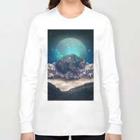 jazzberry Long Sleeve T-shirts featuring Under the Stars (Ursa Major) by soaring anchor designs