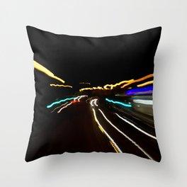 Street Light III - Shankill Throw Pillow