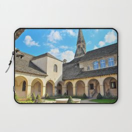 French Augustinian Convent building of Cremieu in Isere Rhone-Alpes Laptop Sleeve