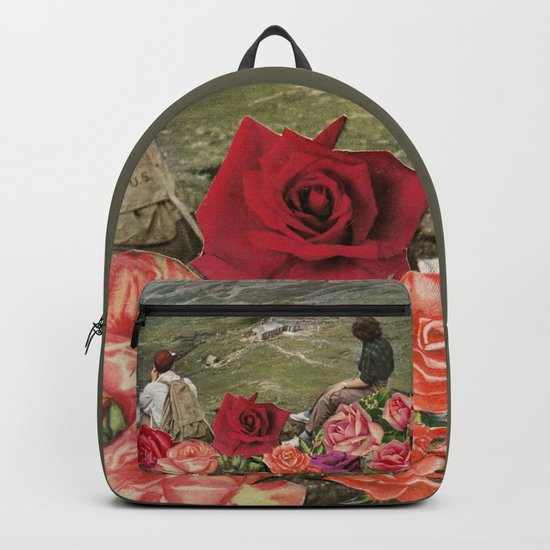 Life is a Bed of Roses Backpack