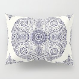 Explorations in Ink & Symmetry Pillow Sham