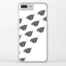 Butterfly swarm Clear iPhone Case