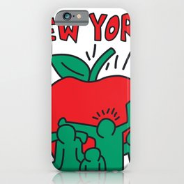 New York Keith Haring iPhone Case