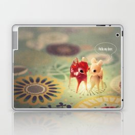 hello my deer Laptop & iPad Skin