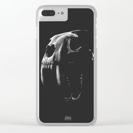 Saber Tooth Tiger Clear iPhone Case