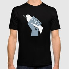 Obtain Peace Revolution Mens Fitted Tee SMALL Black