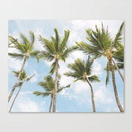 Palm Tree Print Canvas Print